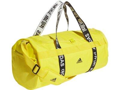 "ADIDAS Sporttasche ""4Athletes Duffle M"" Gelb"