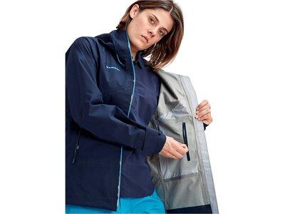 """MAMMUT Damen Trekkingjacke """"Crater HS Hooded Jacket"""" Blau"""