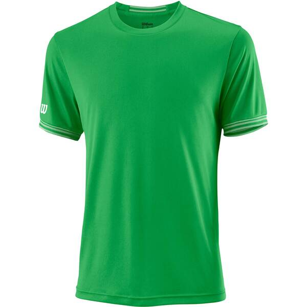 WILSON Herren Tennisshirt Team Solid Crew Kurzarm | Sportbekleidung > Sportshirts > Tennisshirts | White | WILSON