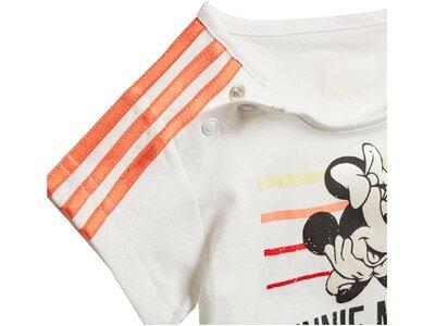 "ADIDAS Mädchen Trainingsanzug ""Minnie Mouse Summer"" Set Silber"