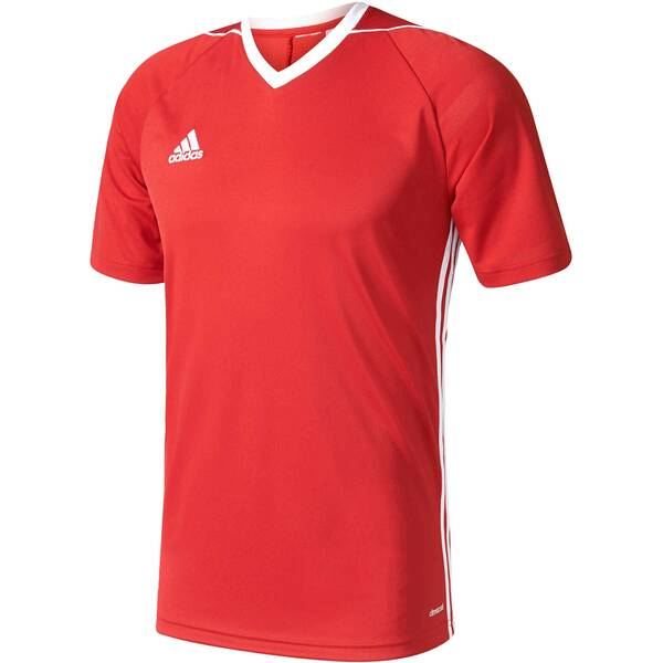 "ADIDAS Herren Fußballshirt ""Tiro 17 Jersey"" Kurzarm"