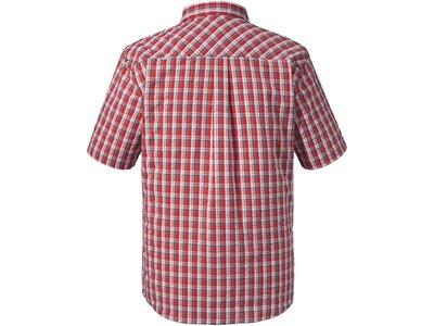 SCHÖFFEL Herren Outdoor-Hemd Shirt Kuopio1 UV Kurzarm Rot