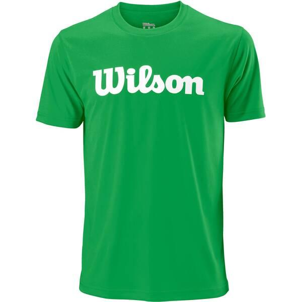 WILSON Herren Tennisshirt UWII Script Tech Tee Kurzarm | Sportbekleidung > Sportshirts > Tennisshirts | White | WILSON