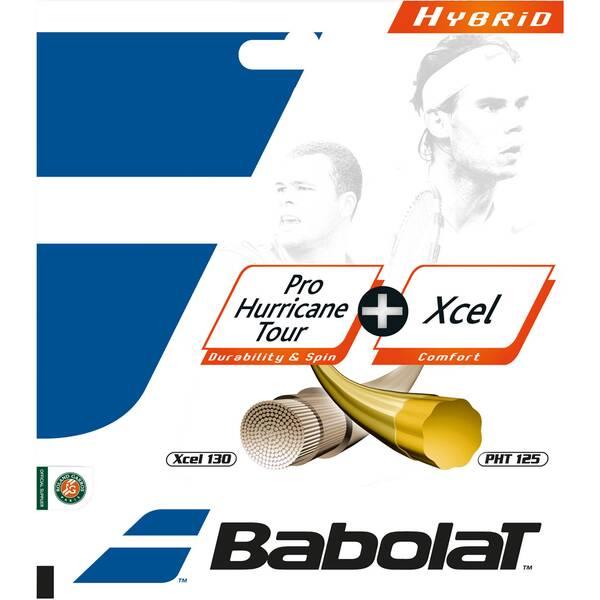 "BABOLAT Hybridsaite ""Pro Hurricane Tour 125 / Xcel 130"""