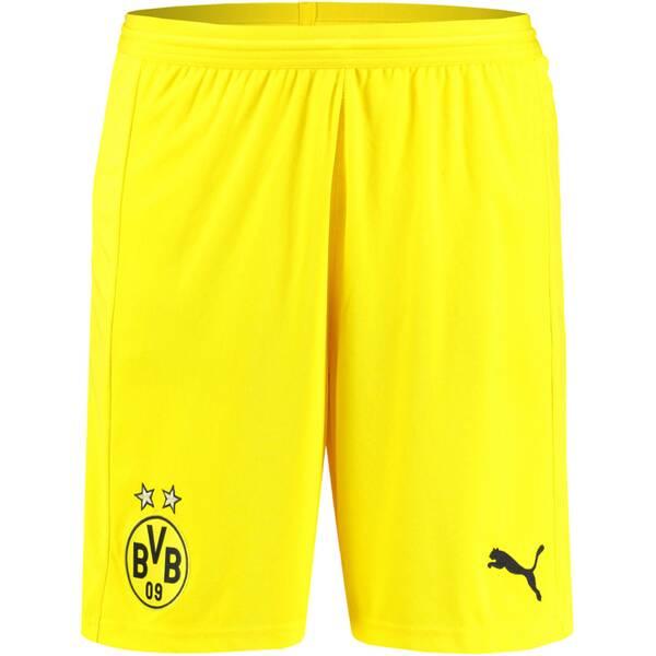 PUMA Herren Fußballshorts BVB Replica | Sportbekleidung > Sporthosen > Fußballhosen | Yellow | Puma