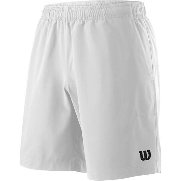 WILSON Herren Tennisshorts Team 8