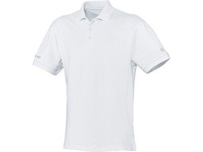 JAKO Damen Polo Classic Weiß