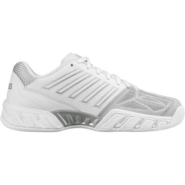 K-SWISS Damen Tennisschuhe Indoor Bigshot Light 3 Carpet | Schuhe > Sportschuhe > Tennisschuhe | Weiß - Silber - Hellgrau | K-SWISS TENNIS