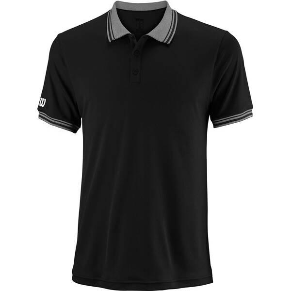WILSON Herren Poloshirt Team Kurzarm