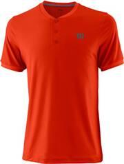 """WILSON Herren Tennisshirt """"UWII Henley"""" Kurzarm"""