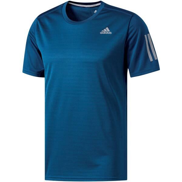 ADIDAS Herren Laufshirt / Trainingsshirt Response Short Sleeve Tee Kurzarm