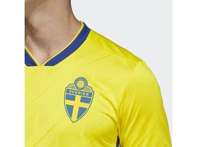 ADIDAS Herren Schweden Heimtrikot Gelb
