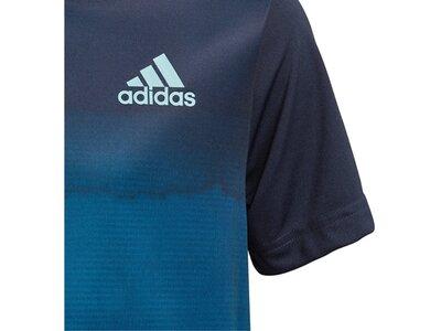 ADIDAS Kinder Tennis-Shirt Parley Blau
