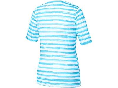 "JOY Damen Trainingsshirt ""Violet"" Kurzarm Blau"