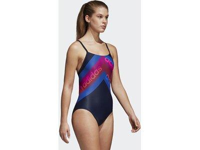 ADIDAS Damen Lineage Badeanzug Blau