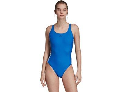 """ADIDAS Damen Badeanzug """"Fit Suit 3S"""" Braun"""