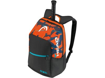 """HEAD Tennisrucksack """"Rebel Backpack"""" Schwarz"""
