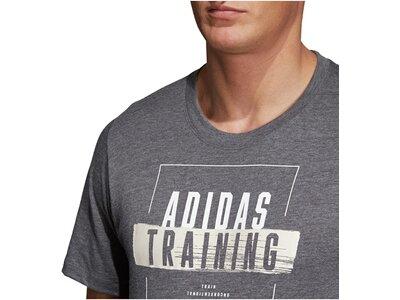 ADIDAS Herren Fitness-Shirt Freelift 19 Weiß