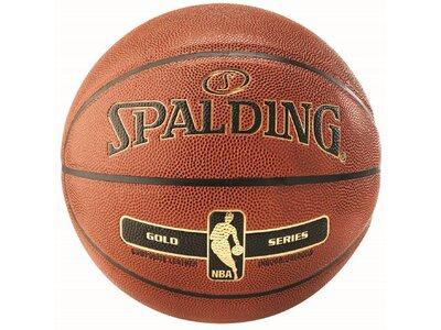 "SPALDING Basketball ""NBA Gold"" Orange"
