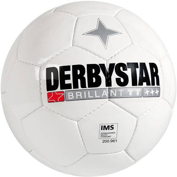 DERBYSTAR Fußball FB-Brilliant TT 5 Weiß