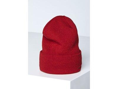 CHIEMSEE Unisex Mütze mit Chiemsee Logo Patch Rot