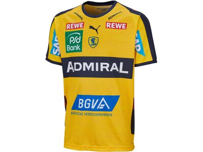 "PUMA Herren Handballtrikot ""RNL Home Shirt"" Kurzarm Gelb"