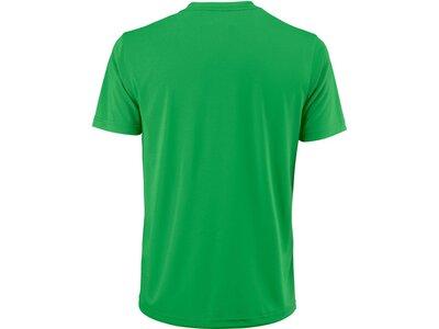 "WILSON Herren Tennisshirt ""UWII Script Tech Tee"" Kurzarm Weiß"