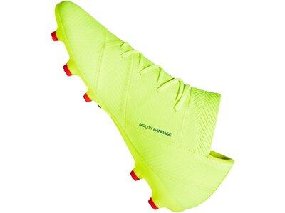 ADIDAS Fußball - Schuhe - Nocken NEMEZIZ Virtuso 18.2 FG Grün