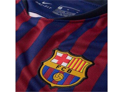 "NIKE Kinder Fußballtrikot ""Breathe FC Barcelona Stadium Home"" Kurzarm Blau"