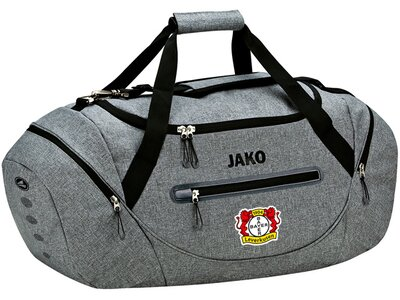 JAKO Bayer 04 Leverkusen Sporttasche Champ Grau