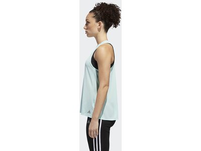 ADIDAS Damen Response Light Speed Tanktop Blau