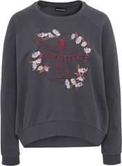 CHIEMSEE Loose Fit Sweatshirt mit großem Chiemsee Frontprint - GOTS zertifiziert