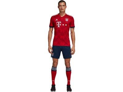 "ADIDAS Herren Fußballshorts ""FC Bayern Home Short 2018/19"" Blau"
