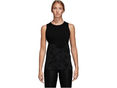 ADIDAS Damen Trainings-Tanktop OpenB Schwarz