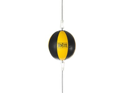 BENLEE Doppelendball aus Leder MARS Schwarz
