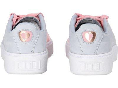 "PUMA Damen Sneaker ""Basket Platform Valentine"" Grau"