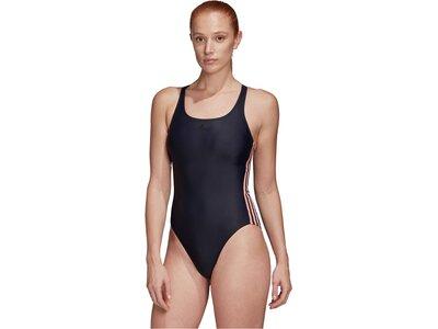 "ADIDAS Damen Badeanzug ""Fit Suit 3S C"" Schwarz"