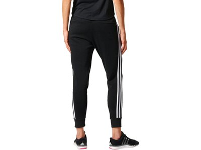 "ADIDAS Damen Trainingshose ""Essentials 3-Stripes Tapered Pant"" Grau"