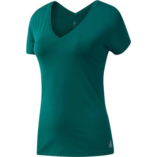 REEBOK Damen Trainingsshirt Kurzarm