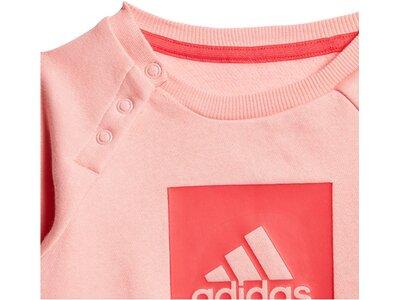 ADIDAS Mädchen Baby und Kleinkind Jogginganzug zweiteilig Pink