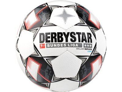 DERBYSTAR Equipment - Fußbälle Bundesliga Brillant Replica Light 350g Fussball Weiß