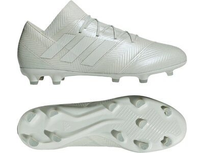 ADIDAS Fußball - Schuhe - Nocken NEMEZIZ Virtuso 18.2 FG Silber