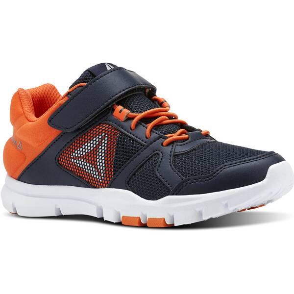 Mit diesem vielseitigen Schuh liegt Komfortdämpfung deinem Kind zu Füßen. Eine gepolsterte Neopren-F
