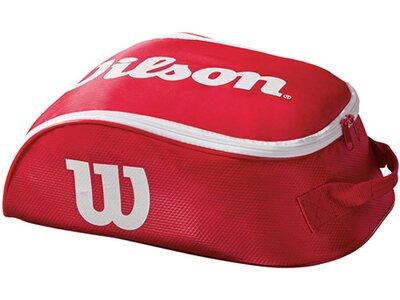 """WILSON Tennis Schuhtasche """"Tour IV"""" Rot"""