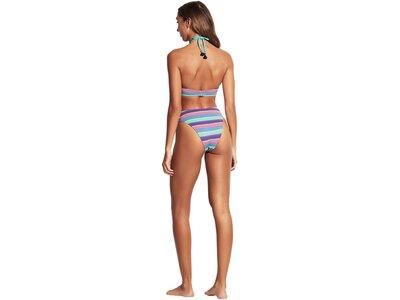 "SEAFOLLY Damen Bikinioberteil ""Baja Stripe V-Wire Halter"" Lila"