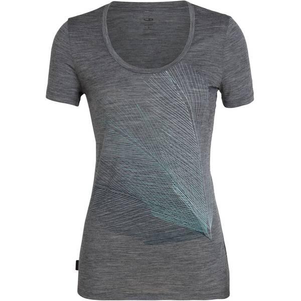 """ICEBREAKER Damen Outdoor-T-Shirt """"Scoop Plume"""""""