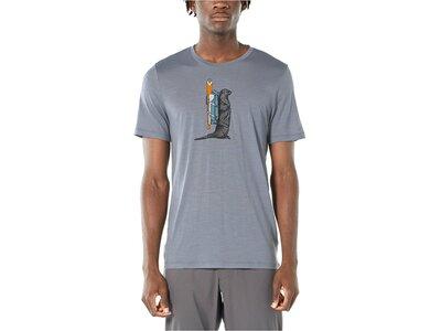 "ICEBREAKER Herren T-Shirt ""Tech Lite SS Crewe Paddle"" Grau"