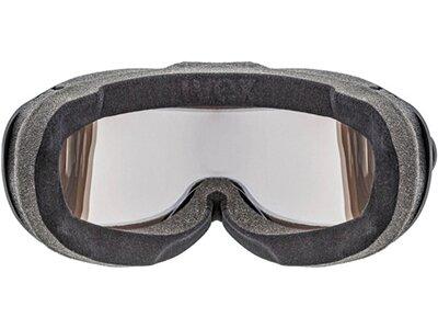 """UVEX Skibrille / Snowboardbrille """"Comanche Top"""" Schwarz"""