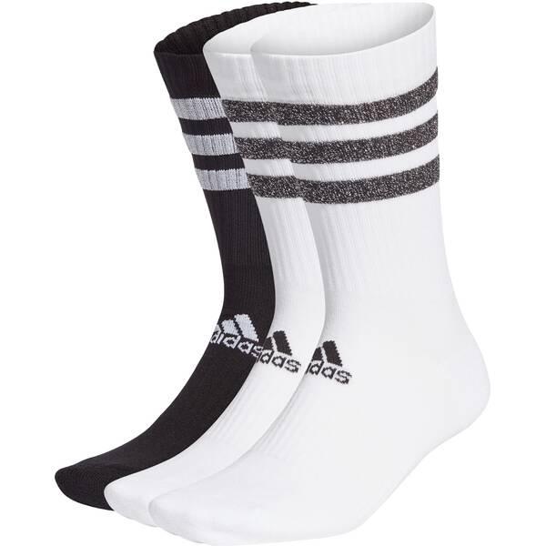 ADIDAS Fußball - Textilien - Socken 3S Glam Crew Socken