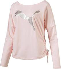 PUMA Damen Trainingsshirt Transition Light Cover Langarm